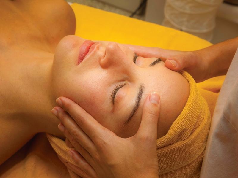 massagem Orange & Teal